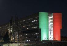 Ater illumina con il tricolore Roma